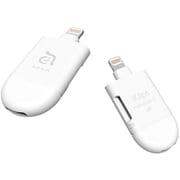 ACRAD0GMCWHJ [iKlips miReader C Lightning / USB-C 2 in 1 microSDカードリーダー]