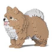ST19PM02-M01 犬シリーズ ポメラニアン 02S-M01 [ブロック玩具]