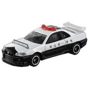 トミカ No.1 日産スカイライン GT-R (BNR34) パトロールカー (箱) [ミニカー]