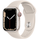 Apple Watch Series 7(GPS + Cellularモデル)- 41mmスターライトアルミニウムケースとスターライトスポーツバンド - レギュラー [MKHR3J/A]