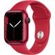 Apple Watch Series 7(GPSモデル)- 41mm (PRODUCT)REDアルミニウムケースと(PRODUCT)REDスポーツバンド - レギュラー [MKN23J/A]