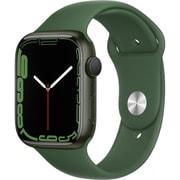 Apple Watch Series 7(GPSモデル)- 45mmグリーンアルミニウムケースとクローバースポーツバンド - レギュラー [MKN73J/A]