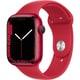 Apple Watch Series 7(GPSモデル)- 45mm (PRODUCT)REDアルミニウムケースと(PRODUCT)REDスポーツバンド - レギュラー [MKN93J/A]