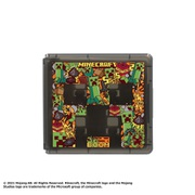 Nintendo Switch 専用 カードケース カードポケット24 マインクラフト グラフィックデザイン