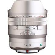 HD PENTAX-D FA 21mmF2.4ED Limited DC WR シルバー [21mm F2.4 ペンタックスKマウント リミテッドレンズ シルバー]