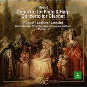 モーツァルト:フルートとハープのための協奏曲|クラリネット協奏曲
