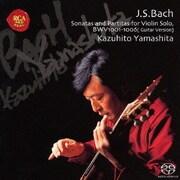 バッハ:無伴奏ヴァイオリン・ソナタ&パルティータ(全曲)【ギター版】