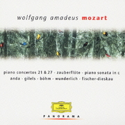 モーツァルト:ピアノ協奏曲第21・27番/歌劇≪魔笛≫(抜粋)/ピアノ・ソナタ第15番