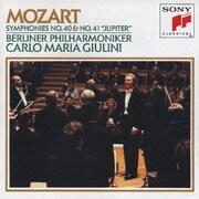 モーツァルト:交響曲第40番/第41番「ジュピター」