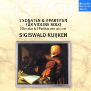 バッハ:無伴奏ヴァイオリン・ソナタ&パルティータ(全曲) (ドイツ・ハルモニア・ムンディ バッハ名盤撰 7)