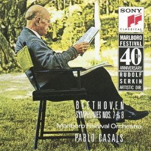 パブロ・カザルス/ベートーヴェン:交響曲第7番&第8番