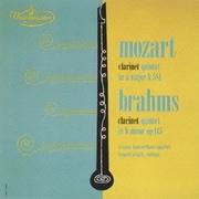 モーツァルト&ブラームス:クラリネット五重奏曲 (ウエストミンスター 室内楽名盤シリーズ)