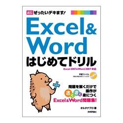ぜったいデキます!Excel & Wordはじめてドリル(パソコン楽ラク入門) [単行本]
