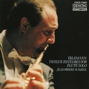 テレマン:無伴奏フルートのための12の幻想曲 (デンオン・クラシック・ベスト100)