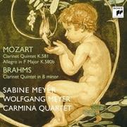 モーツァルト&ブラームス:クラリネット五重奏曲 ほか