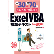 例題30+演習問題70でしっかり学ぶExcel/VBA標準テキスト Excel2007/2010対応版 [単行本]