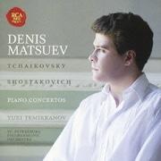 チャイコフスキー&ショスタコーヴィチ:ピアノ協奏曲第1番