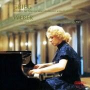 グリーグ:ピアノ協奏曲/ウェーバー:ピアノ小協奏曲