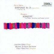 サン=サーンス:交響曲 第3番「オルガン」 プーランク:オルガン協奏曲 (ベリー・ベスト・クラシック1000 83)