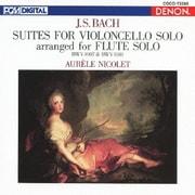 バッハ:フルートによる無伴奏チェロ組曲(第1番/第4番) (CREST 1000 578)