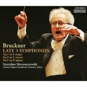 ブルックナー:後期3大交響曲 第7番 ホ長調/第8番 ハ短調/第9番 ニ短調