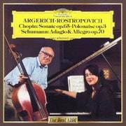 ショパン:チェロ・ソナタ 序奏と華麗なるポロネーズ シューマン:アダージョとアレグロ