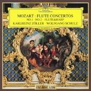 モーツァルト:フルート協奏曲第1番・第2番 フルートとハープのための協奏曲