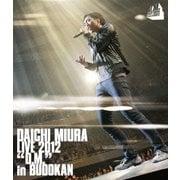 """DAICHI MIURA LIVE 2012 """"D.M."""" in BUDOKAN"""