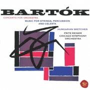 バルトーク:管弦楽のための協奏曲 弦楽器、打楽器とチェレスタのための音楽 5つのハンガリー・スケッチ (ベスト・クラシック100 26)