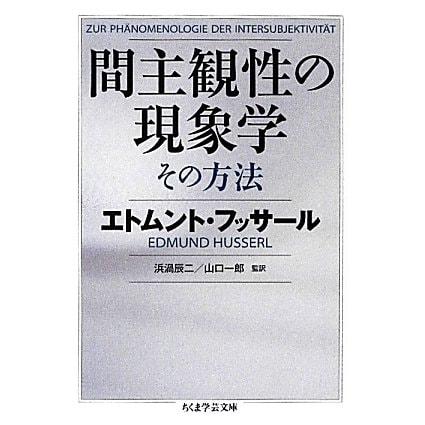 間主観性の現象学 その方法(ちくま学芸文庫) [文庫]