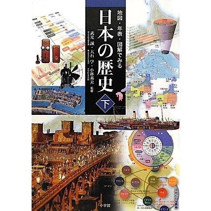地図・年表・図解でみる日本の歴史〈下〉 [単行本]