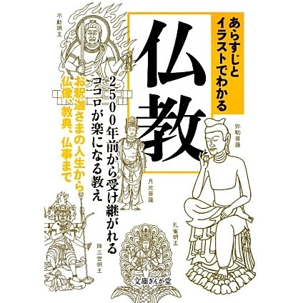 あらすじとイラストでわかる仏教―2500年前から受け継がれるココロが楽になる教え お釈迦さまの人生から仏像、教典、仏事まで(文庫ぎんが堂) [文庫]