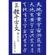 三體千字文-楷・行・草 [単行本]