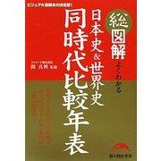 総図解 よくわかる日本史&世界史同時代比較年表 [単行本]
