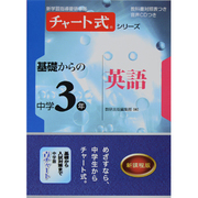 基礎からの中学3年英語(チャート式・シリーズ) [単行本]