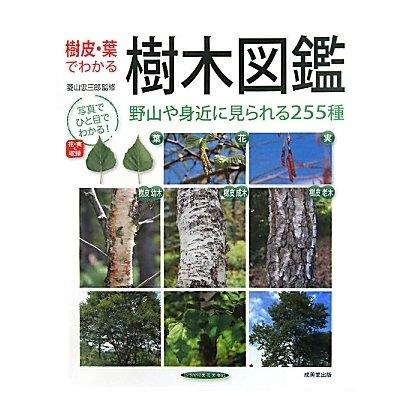 樹皮・葉でわかる樹木図鑑 [単行本]