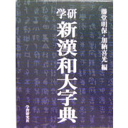 学研新漢和大字典 普及版 [事典辞典]