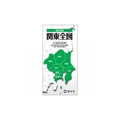 関東全図(地方図) [全集叢書]