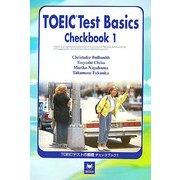 TOEICテストの基礎チェックブック〈1〉―TOEIC Test Basics Checkbook1 [単行本]