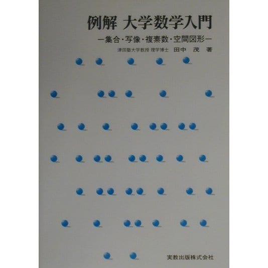 例解 大学数学入門―集合・写像・複素数・空間図形 [単行本]