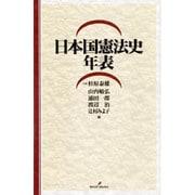 日本国憲法史年表 [単行本]