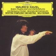 ラヴェル:ボレロ、亡き王女のためのパヴァーヌ 海原の小舟、古風なメヌエット、道化師の朝の歌、ラ・ヴァルス
