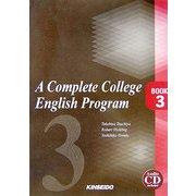 A Complete College English Program―大学英語総合ナビゲーターリメディアル・グラマー編BOOK〈3〉 [単行本]