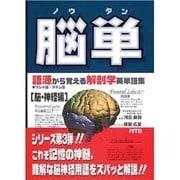 脳単-語源から覚える解剖学英単語集脳・神経編