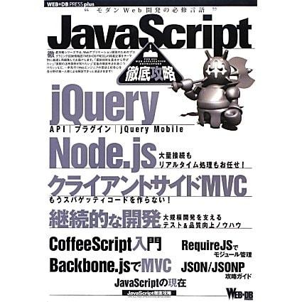 JavaScript徹底攻略(WEB+DB PRESS plusシリーズ) [単行本]