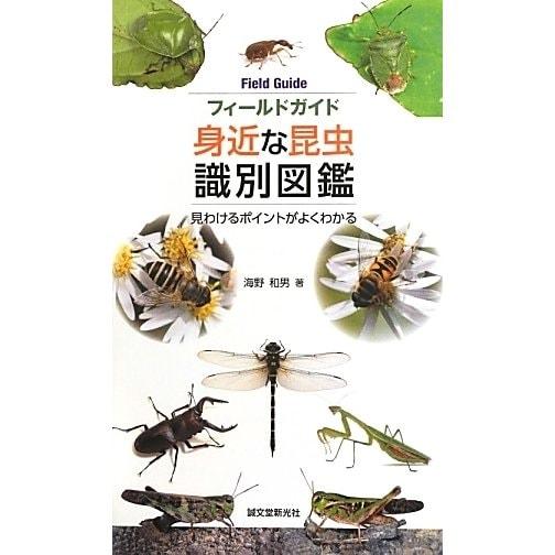 フィールドガイド身近な昆虫識別図鑑―見わけるポイントがよくわかる [単行本]