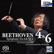 ベートーヴェン:交響曲第4番、第6番「田園」