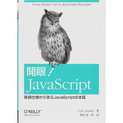 開眼!JavaScript―言語仕様から学ぶJavaScriptの本質 [単行本]