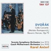 ドヴォルザーク:チェロ協奏曲/スラヴ舞曲 Op.72 (カレル・アンチェル至高の遺産 4)