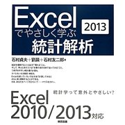 Excelでやさしく学ぶ統計解析〈2013〉 [単行本]
